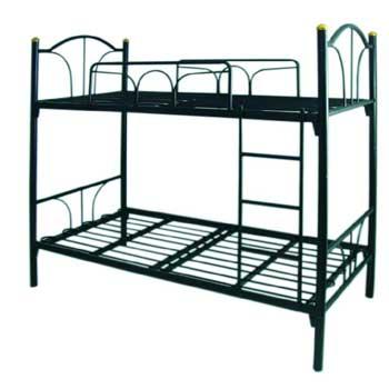 เตียงนอนหล็ก 2 ชั้น  3\' ทูอินวัน พื้นเหล็ก