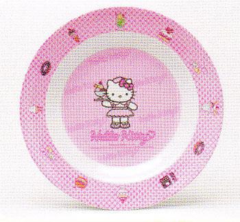 ชามเด็ก Hello Kitty Party รหัส P304-9