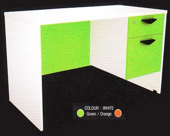 โต๊ะทำงาน 1.20 m. 2 ลิ้นชักขวา IDK1202