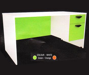 โต๊ะทำงาน 1.60 m. 2 ลิ้นชักขวา IDK1602