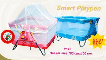 เตียงเด็ก Smart Playpen p146