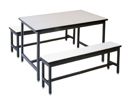 โต๊ะโรงอาหาร และ ม้านั่ง 5 ฟุต