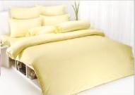 ผ้าปูที่นอน TOTO สีพื้นครีม 3.5\'