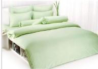 ผ้าปูที่นอน TOTO สีเขียว 3.5\'