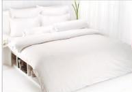 ผ้าปูที่นอน TOTO สีขาว 3.5\'