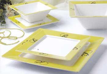 ชุดถ้วยชามทรง Platter shape