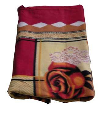 ผ้าห่มสำลี ลายดอก