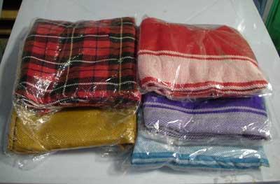 ผ้าห่มพีทีไอ (แบบเดียวกันที่ใช้บนรถทัวร์)