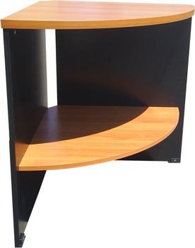 โต๊ะเข้ามุม 60  หน้า เมลามีน MD003