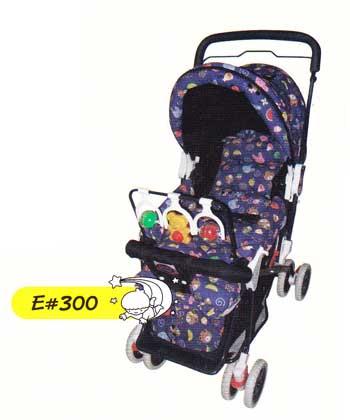 รถเข็นเด็ก มีของเล่น รุ่น E300