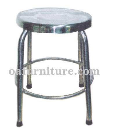 เก้าอี้สเตนเลสกลม SL1