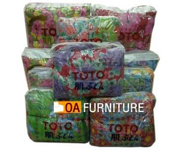 ผ้านวม TOTO ผ้าอะคริลิค และ ใยสังเคราะห์ 70x80
