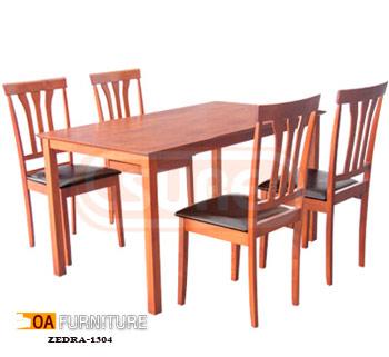 ชุดโต๊ะรับประทานอาหาร Zedra 1304