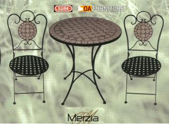 ชุดโต๊ะ-เก้าอี้โมเสค Merzia