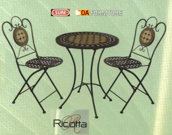 ชุดโต๊ะ-เก้าอี้โมเสค Ricotta