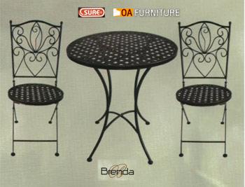 ชุดโต๊ะ-เก้าอี้โมเสค Brenda
