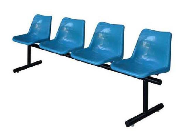 เก้าอี้แถวโพลีฯ 4 ที่นั่ง