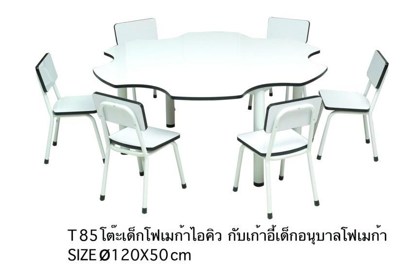 ชุดโต๊ะเก้าอี้เด็กนักเรียนเด็ก ไอคิว