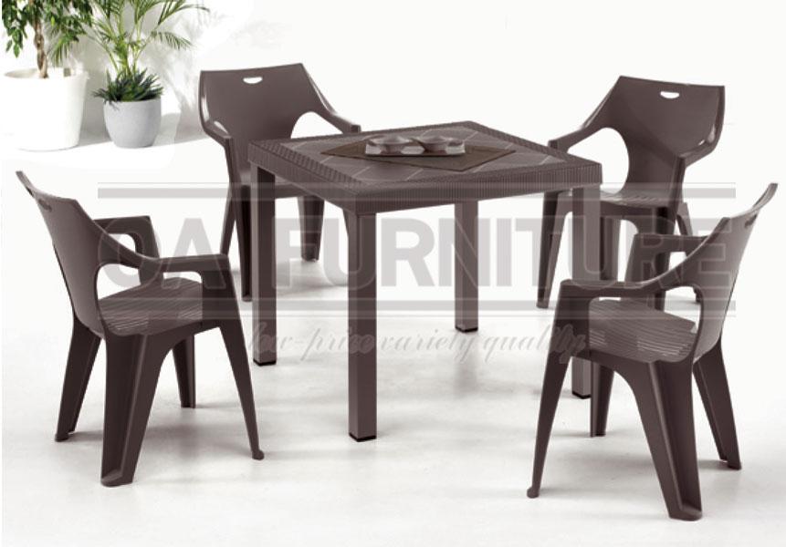 ชุดโต๊ะเก้าอี้ Brio-Kreta
