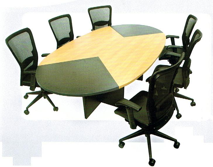 โต๊ะประชุมเมลามีนหัวดำ/ท้ายดำ (CFMs 260  280)