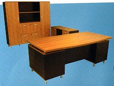 ชุดโต๊ะผู้บริหาร ขนาด160(ก)*120(ล)*75(ส) ซม.