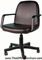 เก้าอี้สำนักงาน CH004/BA ขนาด 56(ก)*59(ล)*92(ส) ซม.