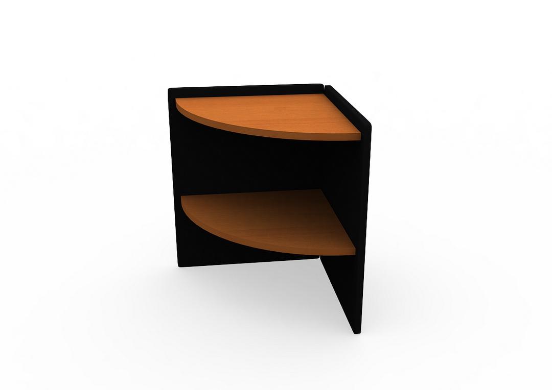 โต๊ะเข้ามุม ขนาด 60(ก)*60(ล)*75(ส)  ซม.  หมวด : เฟอร์นิเจอร์สำนักงาน