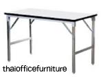 โต๊ะพับเอนกประสงค์  ขนาด กว้าง120 ยาว75 สูง75 ซ.ม