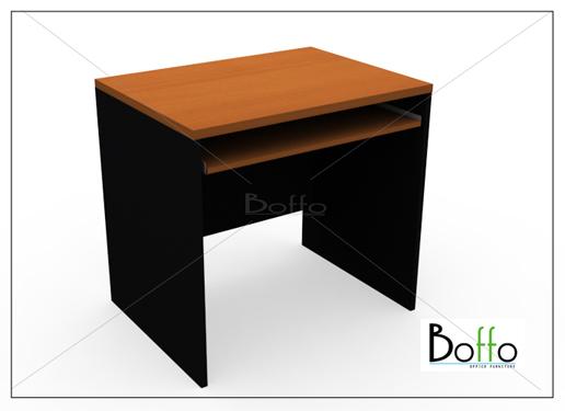 BF800C-F โต๊ะคอมพิวเตอร์ ขนาด 80(ก)*60(ล)*75(ส) ซม.