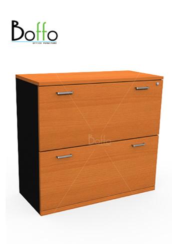ตู้แขวนแฟ้ม ขนาด 90(ก)*40(ล)*81(ส) cm (เมลามีน)