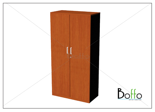 ตู้เอกสารขนาดกลาง 2 บานเปิด-ปิด  80(ก)*40(ล)*160(ส) ซม. (เมลามีน)
