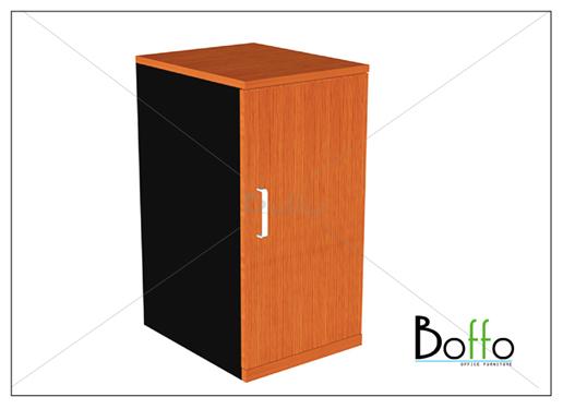 ตู้โมบาย บานเปิด-ปิด  ขนาด 40(ก)*60(ล)*75(ส) ซม. (เมลามีน)
