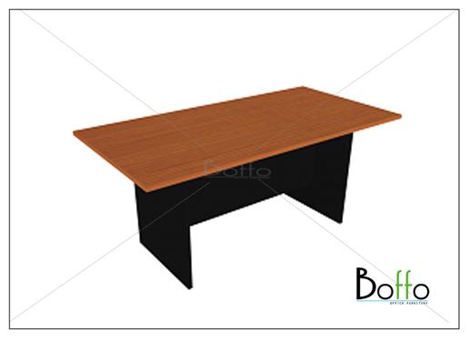 โต๊ะประชุมทรงสี่เหลียม ขนาด 180(ก)*90(ล)*75(ส) ซม. (เมลามีน)