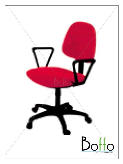 เก้าอี้สำนักงาน CH006/N ขนาด 58(ก)*51(ล)*84(ส) ซม. (เอนหลังได้)
