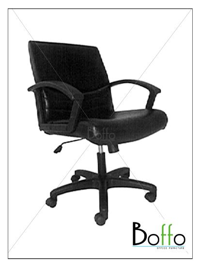 เก้าอี้สำนักงาน CH002/LON ขนาด 63(ก)*63(ล)*95-105(ส) ซม. (พนักพิงระดับไหล่ เอนหลังได้)