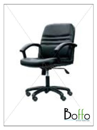 เก้าอี้สำนักงาน CH002/PK ขนาด 64(ก)*66(ล)*93-101(ส) ซม. (พนักพิงระดับไหล่ เอนหลังได้)