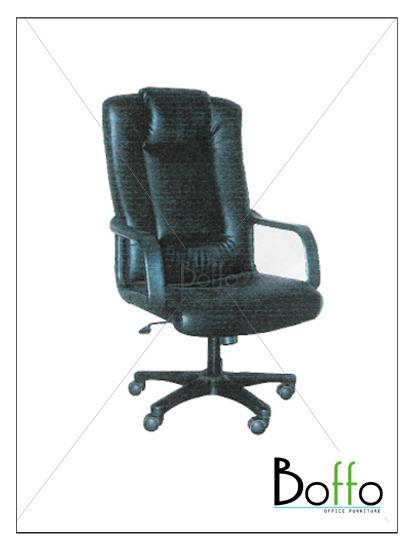 เก้าอี้ผู้บริหาร CH001/BO ขนาด 67(ก)*73(ล)*115-127(ส) ซม. (พนักพิงระดับศรีษะ เอนหลังได้)
