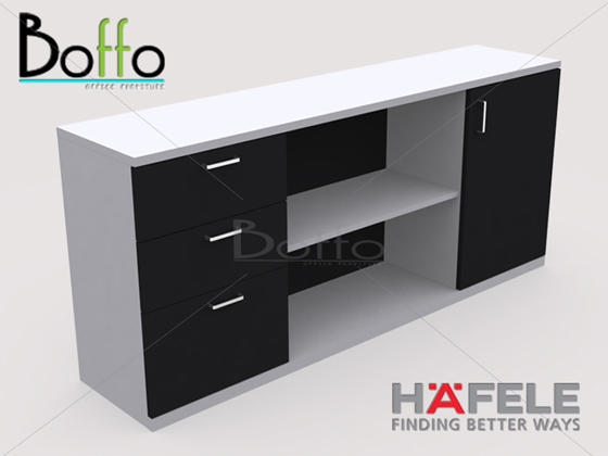 FX180WSB ตู้เก็บเอกสาร รุ่น Flexi Serie ขนาด 180(ก)*40(ล)*70(ส) ซม. (เมลามีน)