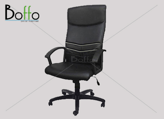 เก้าอี้ผู้บริหาร CH001/LON ขนาด 65(ก)*72(ล)*120-130(ส) ซม. (พนักพิงระดับศรีษะ เอนหลังได้)