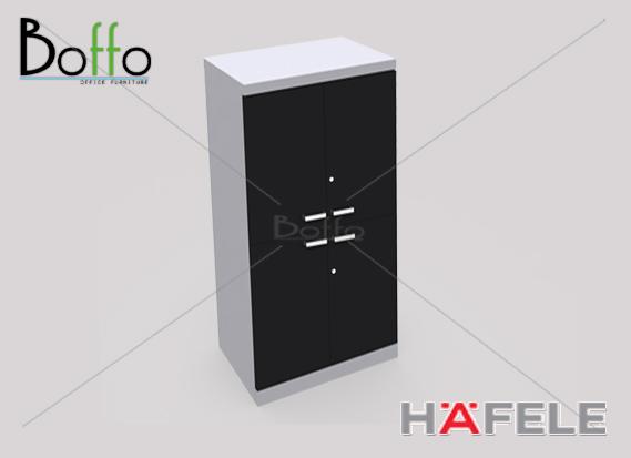 FX160WOOS ตู้เก็บเอกสารสูง บานเปิดบน บานเปิดล่าง รุ่น Flexi Serie ขนาด 80(ก)*40(ล)*160(ส) ซม.