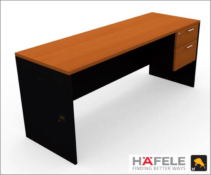 โต๊ะทำงาน 2 ลิ้นชัก ขนาด 180(ก) ซม. (เฟอร์นิเจอร์สำนักงาน)
