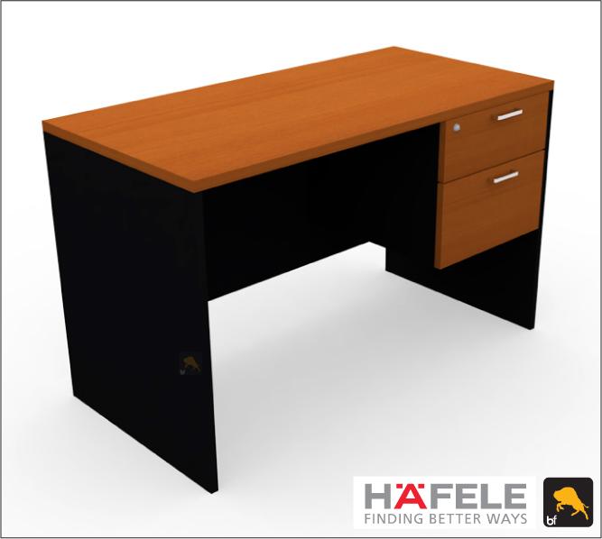 โต๊ะทำงาน 2 ลิ้นชัก ขนาด 120(ก) ซม. (เฟอร์นิเจอร์สำนักงาน)