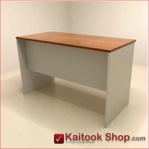 โต๊ะคอมพิวเตอร์ พร้อม 2 ลิ้นชัก  ขนาด120(ก)*60(ล)*75(ส) ซม. 1