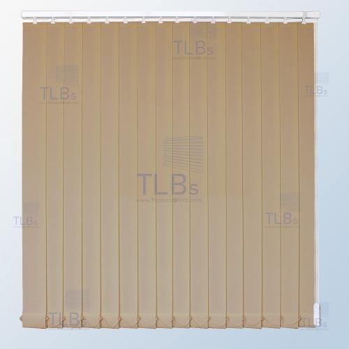 ม่านปรับแสง TLBs โปร่งแสง (เชือกปรับ) ขนาดใบ 8.9 ซม. ผ้า 555A07