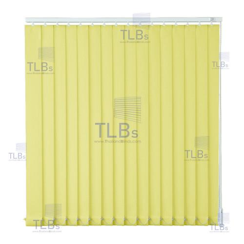 ม่านปรับแสง TLBs โปร่งแสง (เชือกปรับ) ขนาดใบ 8.9 ซม.ผ้า B8617