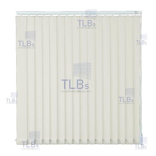 ม่านปรับแสง TLBs โปร่งแสง (เชือกปรับ) ขนาดใบ 8.9 ซม.  ผ้า B801-22