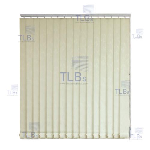 ม่านปรับแสง TLBs โปร่งแสง (เชือกปรับ) ขนาดใบ 8.9 ซม.  ผ้า A274-3