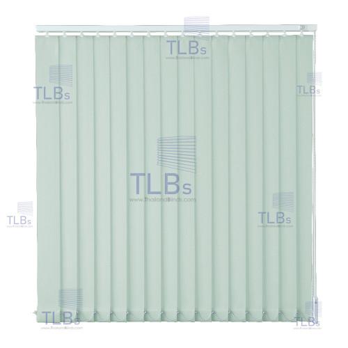 ม่านปรับแสง TLBs โปร่งแสง (เชือกปรับ) ขนาดใบ 8.9 ซม.  ผ้า B801-55