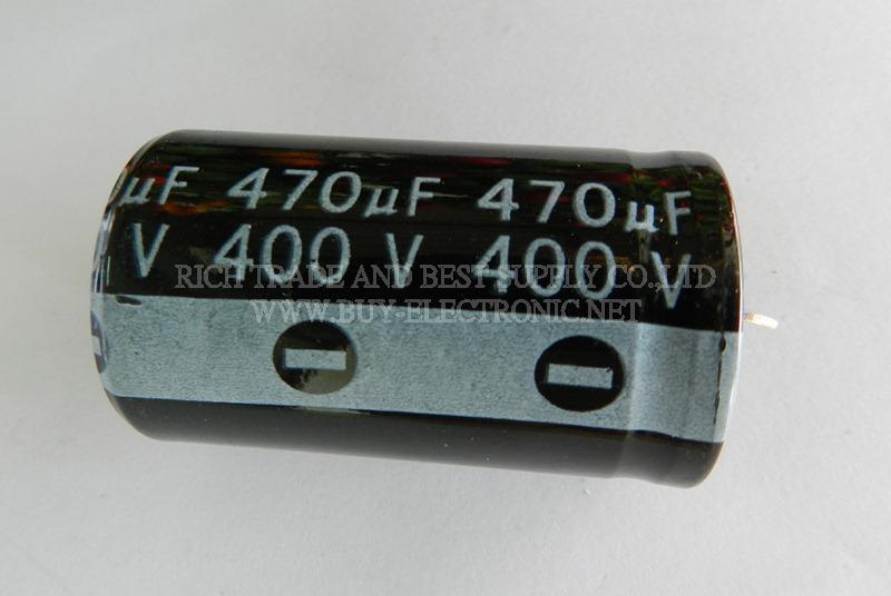 CAPACITOR  470uF 400V