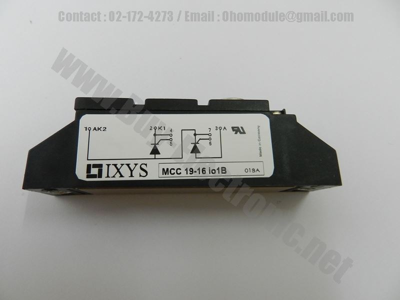 MCC19-16IO1B IXYS (สินค้าใหม่)
